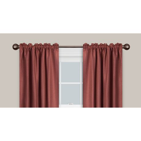 "Maytex 48"" - 120"" Drapery Window Curtain Rod 