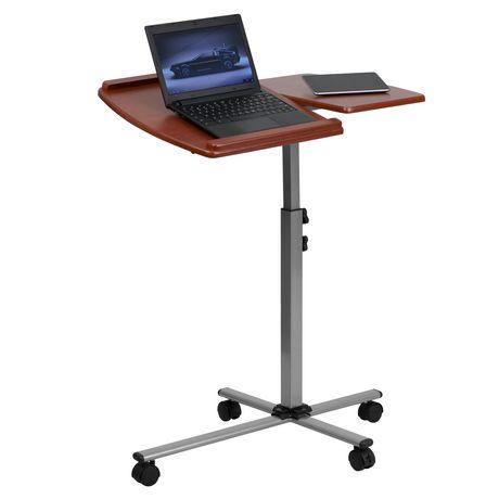 Table pour portatif à hauteur et angle réglables et dessus en cerise - image 1 de 1