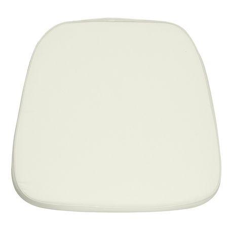 Soft Ivory Fabric Chiavari Chair Cushion - image 1 of 1
