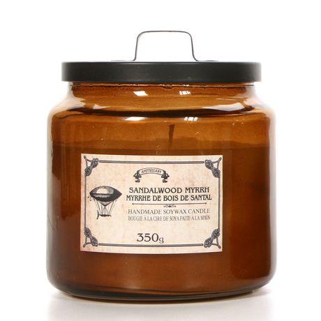Apothecary Sandalwood Myrrh Candle Jar with Lid - image 1 of 1