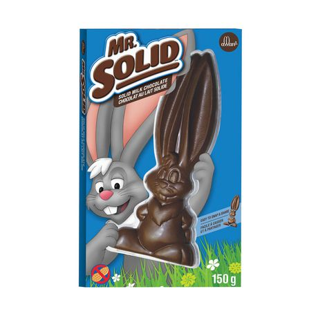 ALLAN MR. SOLID Solid Milk Chocolate Easter Bunny - image 1 of 2