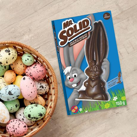 ALLAN MR. SOLID Solid Milk Chocolate Easter Bunny - image 2 of 2