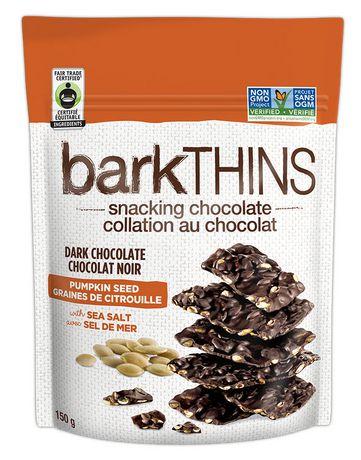 barkTHINS Dark Chocolate Pumpkin Seed with Sea Salt Pouch - image 1 of 2 ...