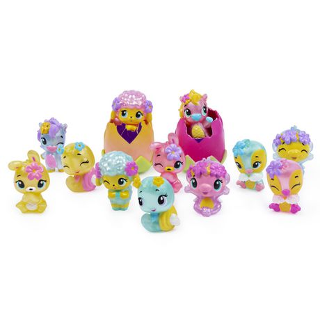 Hatchimals CollEGGtibles, Flower Basket with Exclusive Hatchimals CollEGGtibles, for Kids Aged 5 and Up (Styles May Vary) - image 3 of 9