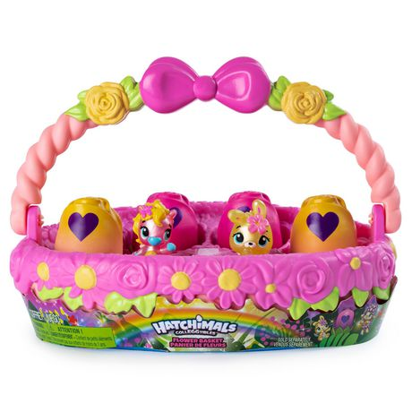 Hatchimals CollEGGtibles, Flower Basket with Exclusive Hatchimals CollEGGtibles, for Kids Aged 5 and Up (Styles May Vary) - image 1 of 9