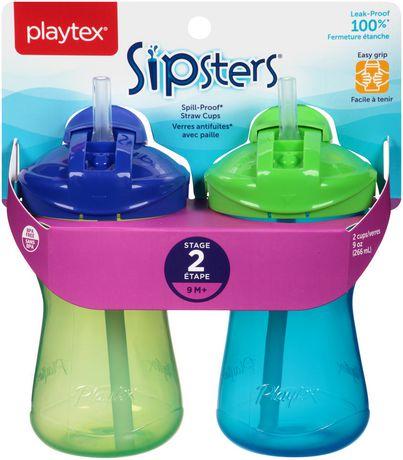 Verres antifuites Sipsters de Playtex Baby avec paille - image 2 de 8