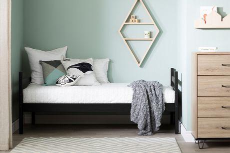 South Shore Fakto Solid Wood Bunk Beds, Matte Black - image 3 of 6