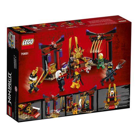 LEGO NINJAGO Masters of Spinjitzu: Throne Room Showdown 70651 Building Kit (221 Piece) - image 6 of 6