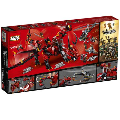 LEGO NINJAGO Masters of Spinjitzu: Firstbourne 70653 Building Kit (882 Piece) - image 6 of 6