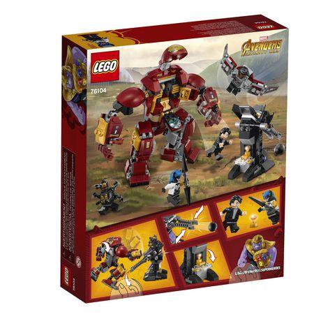 LEGO Marvel Super Heroes Avengers: Infinity War The Hulkbuster Smash-Up 76104 Building Kit (375 Piece) - image 6 of 6