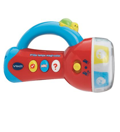 Vtech Spin Learn Color Flashlight French Version Walmart Canada