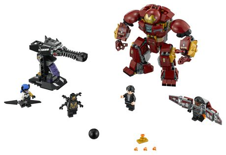 LEGO Marvel Super Heroes Avengers: Infinity War The Hulkbuster Smash-Up 76104 Building Kit (375 Piece) - image 3 of 6