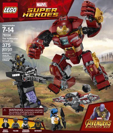 LEGO Marvel Super Heroes Avengers: Infinity War The Hulkbuster Smash-Up 76104 Building Kit (375 Piece) - image 5 of 6