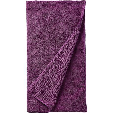 Serviette de voyage en microfibre WillLand Outdoors en violet - image 2 de 3