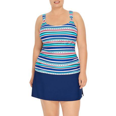 Krista Plus D Cup Tankini Swim Top Walmart Canada