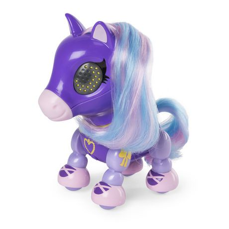 Zoomer Zupps Pretty Ponies, – Lilac, Series 1