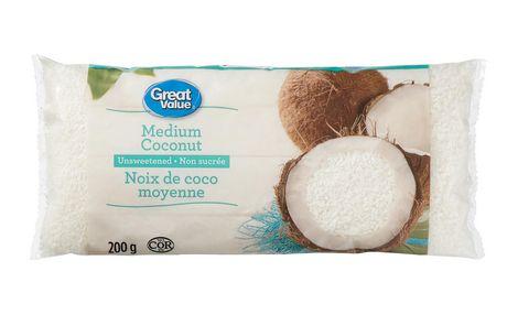 Noix de coco moyenne non sucrée Great Value - image 1 de 2