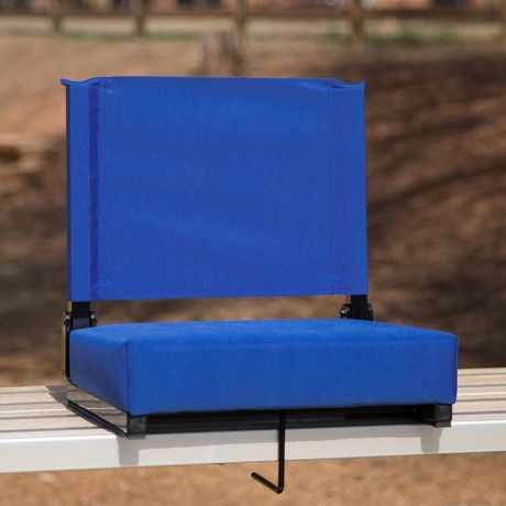 Grandstand Comfort Seats by Flash with Ultra-Padded Seat in Blue - image 2 of 8