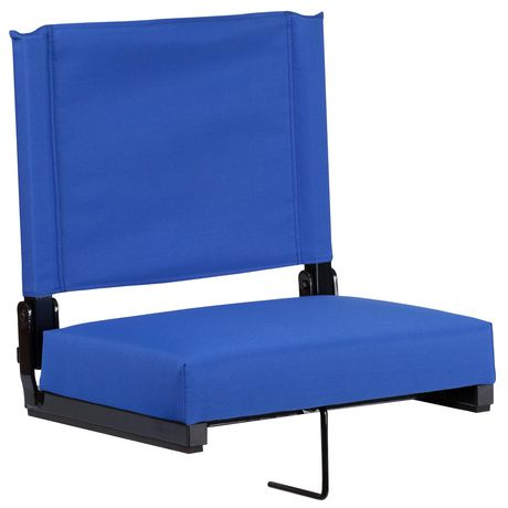 Grandstand Comfort Seats by Flash with Ultra-Padded Seat in Blue - image 1 of 8