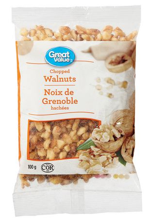 Great Value Chopped Walnuts - image 1 of 2