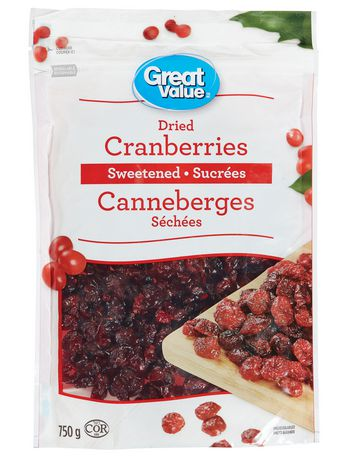 Great Value Sweetened Dried Cranberries - image 1 of 2