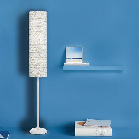 Mainstays Geo Pattern Paper Shade Floor Lamp - image 3 of 3