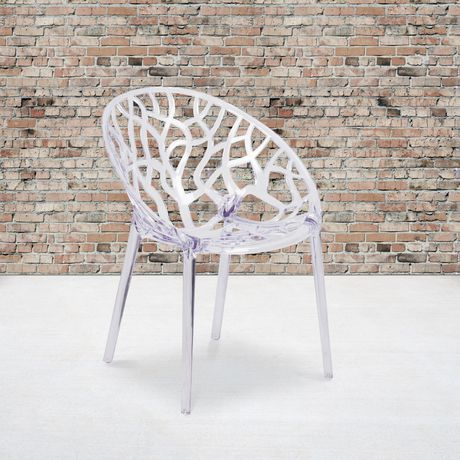 Specter Series Transparent Stacking Side Chair - image 2 of 4