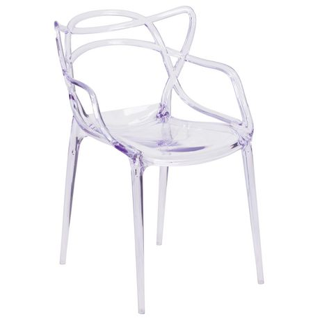 Nesting Series Transparent Stacking Side Chair - image 1 of 4