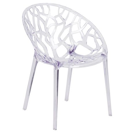 Specter Series Transparent Stacking Side Chair - image 1 of 4