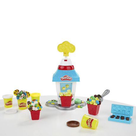 Play-Doh Kitchen Creations Popcorn Party Play Food Set | Walmart ...
