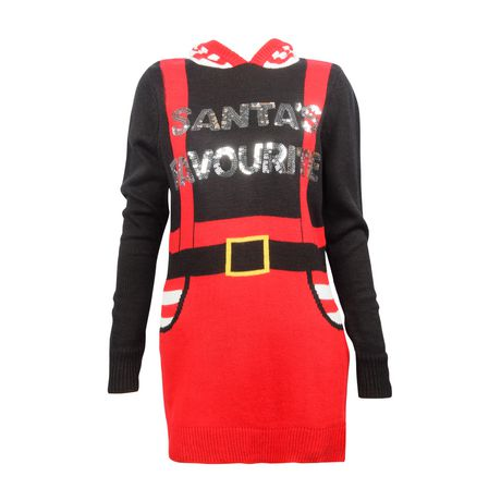 "George Women's "" Santa's favourite"" Christmas Sweater - image 1 of 3"