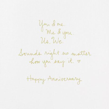 Carte de souhaits avec signature d'anniversaire Hallmark - image 3 de 4
