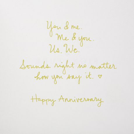 Carte de souhaits avec signature d'anniversaire Hallmark - image 4 de 4