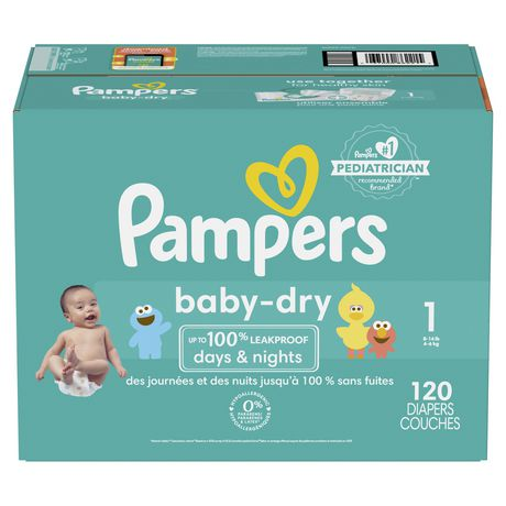 Pampers Baby Dry Diapers - Super Pack - image 1 of 1