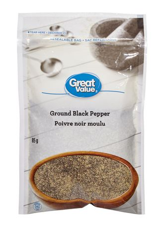 Great Value Ground Black Pepper - image 1 of 1