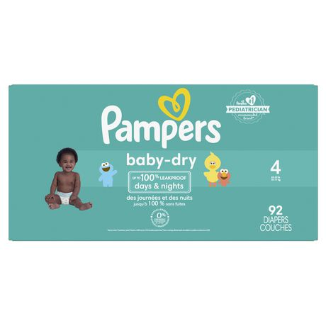 Pampers Baby Dry Diapers - Super Pack - image 1 of 9