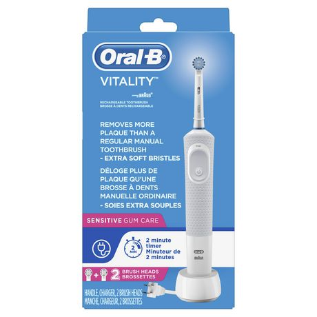 Oral B Oral-B Vitality Sensitive Gum Care Rechargeable Electric Toothbrush