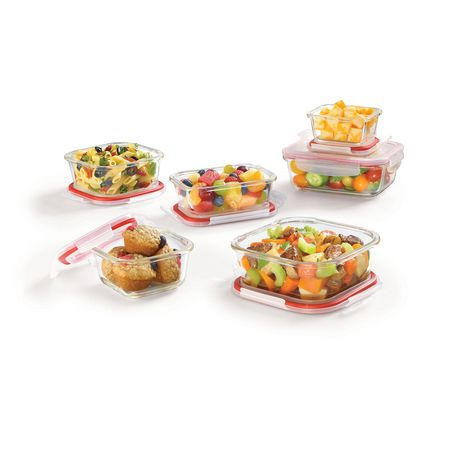 Lock Lock Glass 10 piece Set Walmart Canada