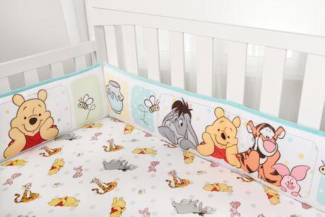 Winnie The Pooh 4 Piece Crib Bumper Set Walmart Canada