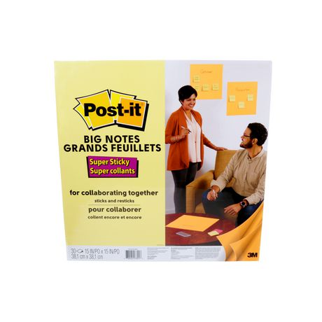 Grands feuillets Post-it® - image 1 de 4