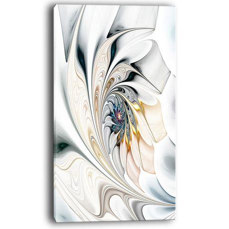 tableau mural sur toile imprim e design art verre blanc. Black Bedroom Furniture Sets. Home Design Ideas
