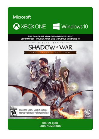 Xbox One Middle-earth: Shadow of War Definitive Edition [Download] - image 1 de 1