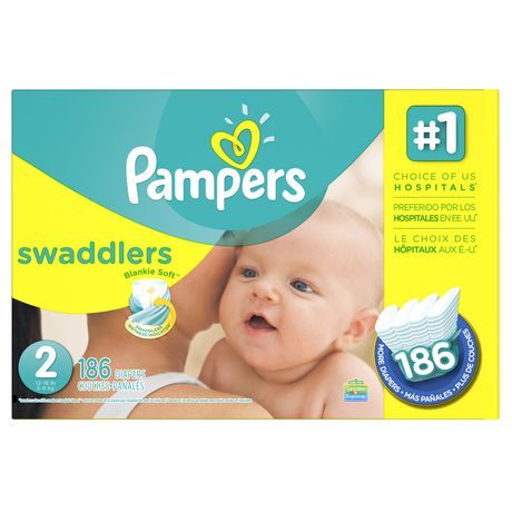 Pampers Swaddlers Diapers Economy Pack plus - image 1 of 1