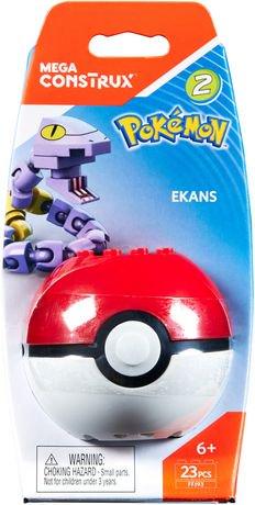 Mega Construx Pokemon Ekans Poke Ball Walmart Canada
