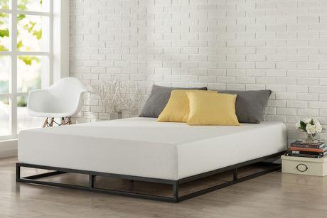 Zinus 6 Inch Platforma Low Profile Bed Frame Mattress
