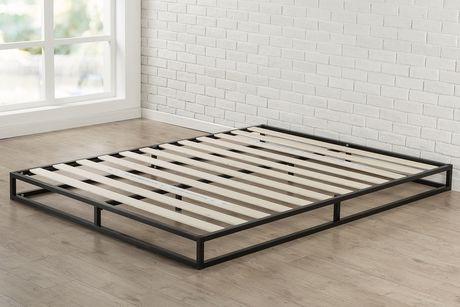 zinus 6 platforma low profile bed frame walmart canada. Black Bedroom Furniture Sets. Home Design Ideas