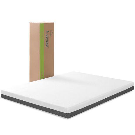 Zinus 6 Inch Eco Sense Memory Foam Mattress Walmart Canada