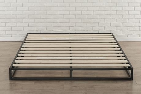 Zinus 6 Quot Platforma Low Profile Bed Frame Walmart Canada
