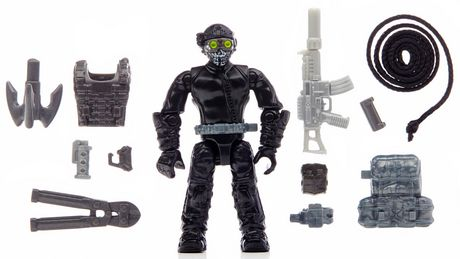 Mega Bloks Call Of Duty Ghosts Rappel Fighter 6865