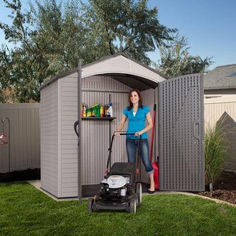 Garden Sheds Canada lifetime 7' x 4.5' storage shed   walmart canada